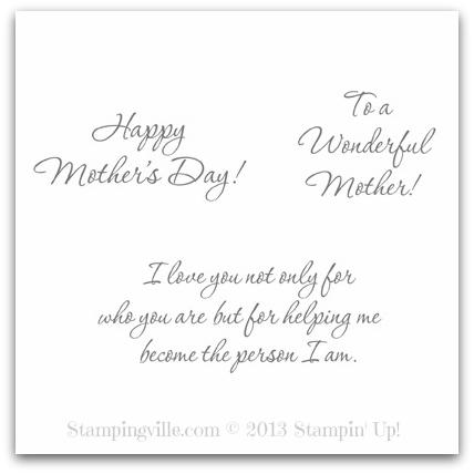 Stampin' Up! Wonderful Mother Digital Stamp Brush Set