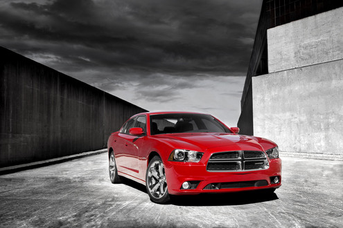 Red 2011 Dodge Charger