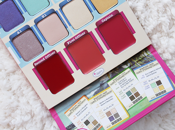 thebalm voyage palette review