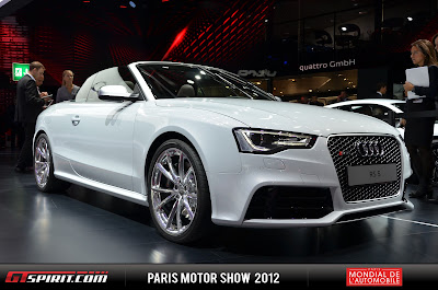 Duo 2014 Audi RS5 Cabriolet and R8 V10 Plus to Detroit Motor Show
