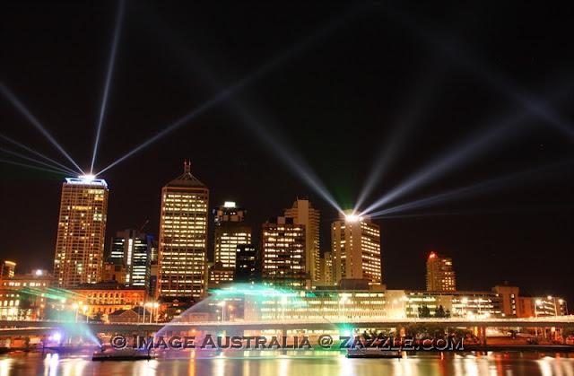 Brisbane Laser Show 2011 - © CKoenig