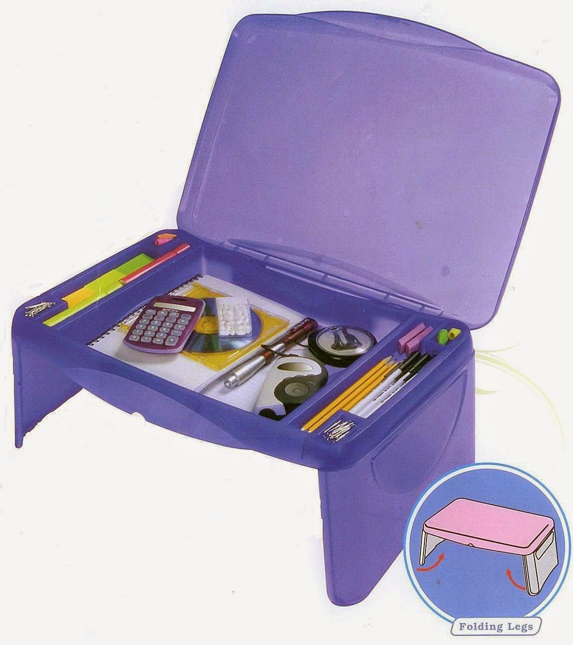 Folding Kids Lap Desk With Storage - Best Lap Desk: Kids Lap Desk