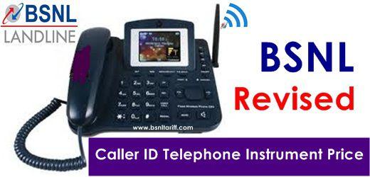 PAN India BSNL Landline Caller ID telephone instrument ...