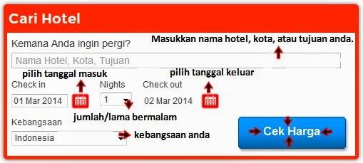 reservasi hotel di GoIndonesia.com