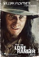 William Fichtner The Lone Ranger Poster