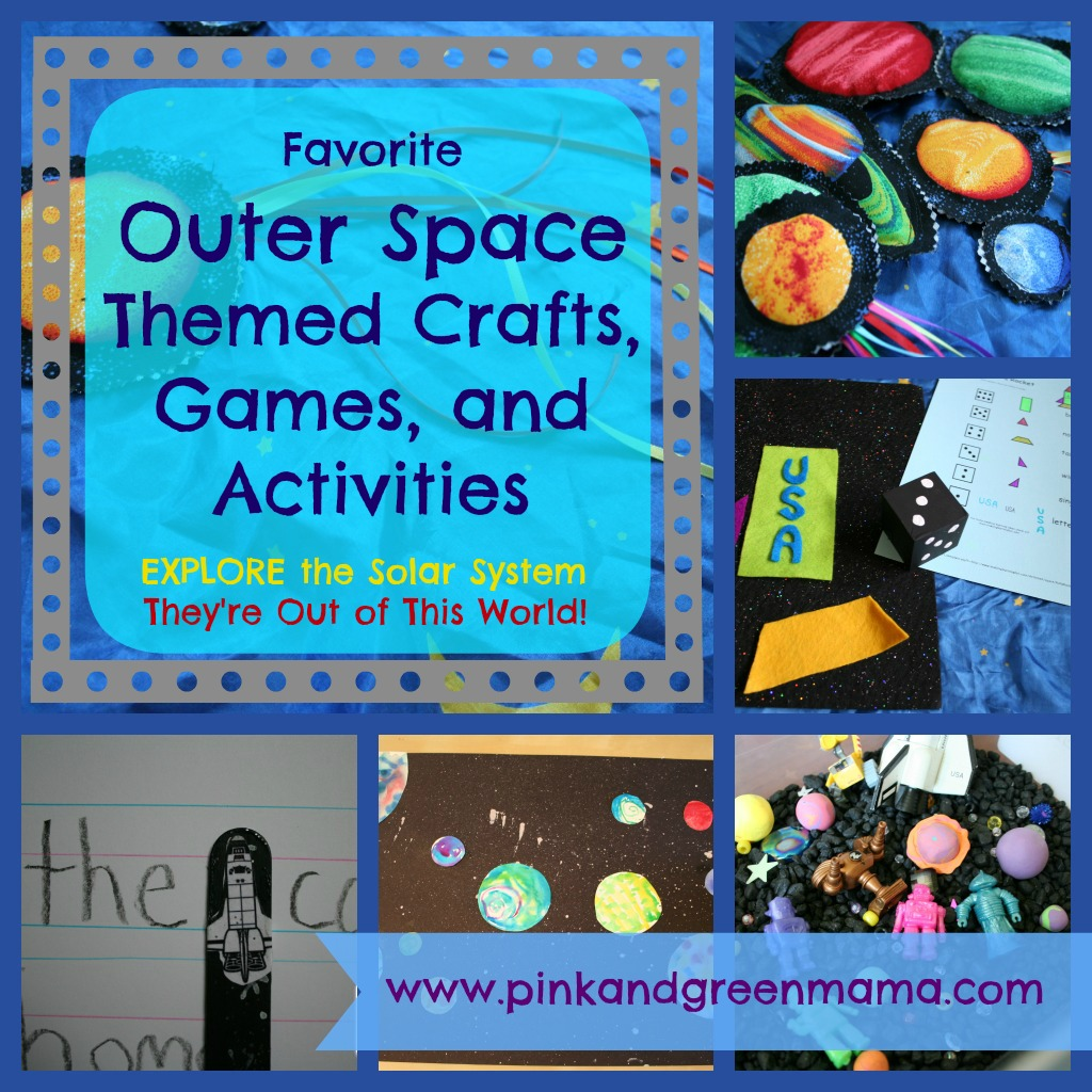 Activities Crafts Games: Pink And Green Mama: Solar System Projects
