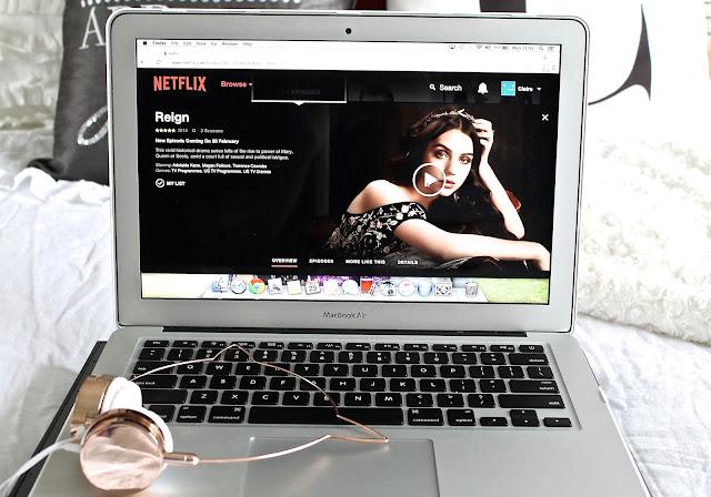 Binge Watching On Netflix