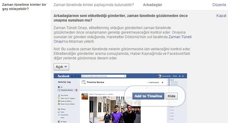 Facebook İstenmeyen Etiketlerden Nasıl Kurtuluruz?