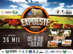 2ª EXPOESTE de Caraúbas (RN)