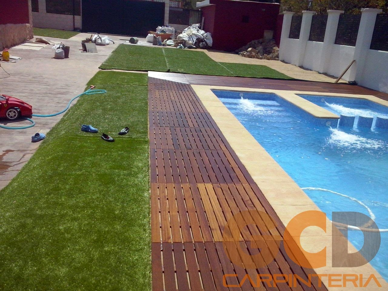 Suelos de madera para terrazas y piscinas - GCD Carpintería - 661 ...