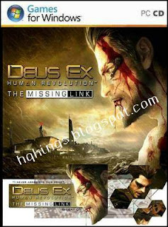 Deus Ex Human Revolution The Missing Link PC Cover