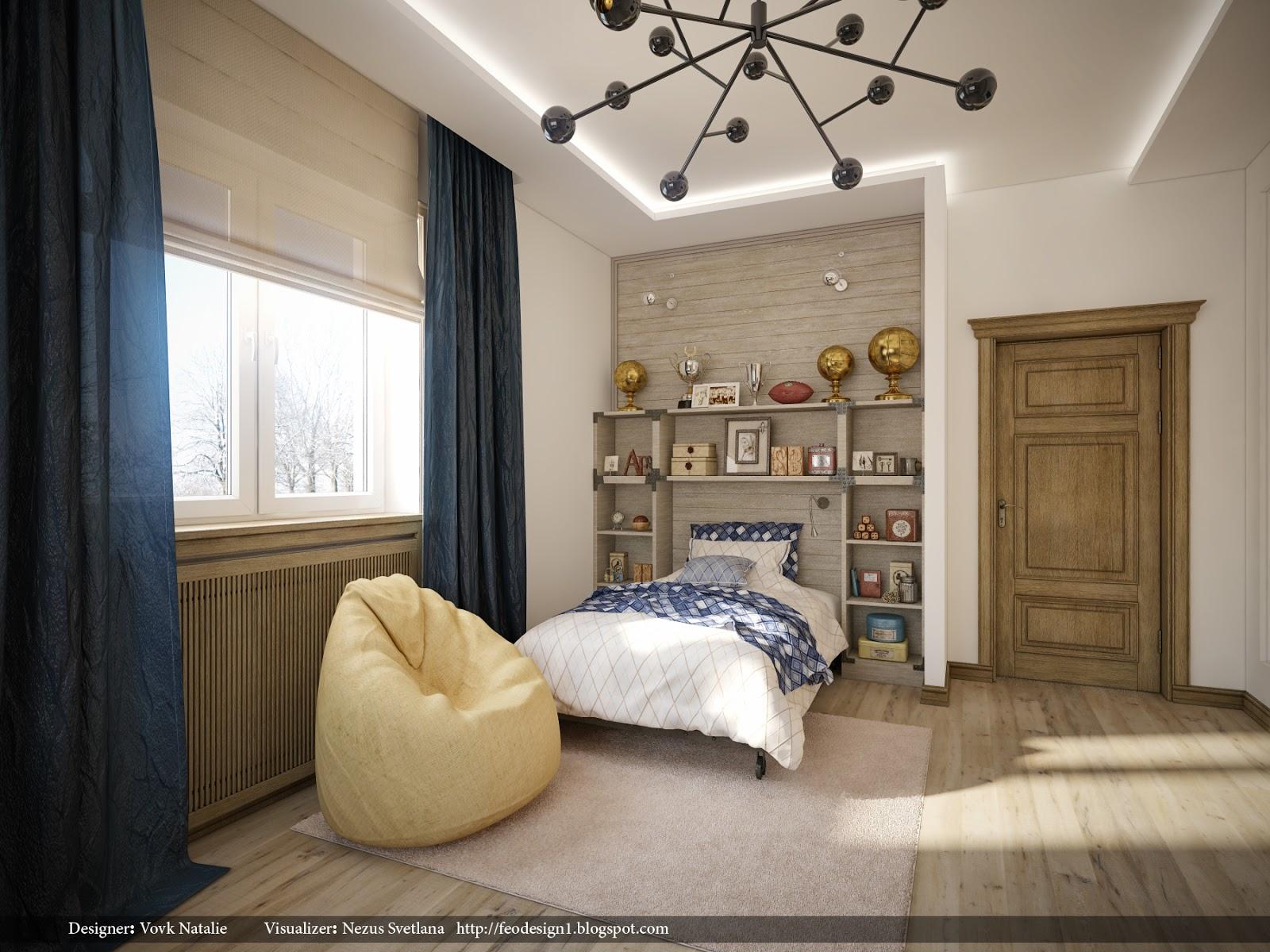 Svetlana nezus portfolio 3d for High school bedroom designs