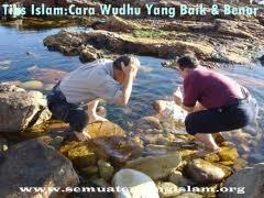 TIPS ISLAM:CARA WUDHU YANG BAIK & BENAR