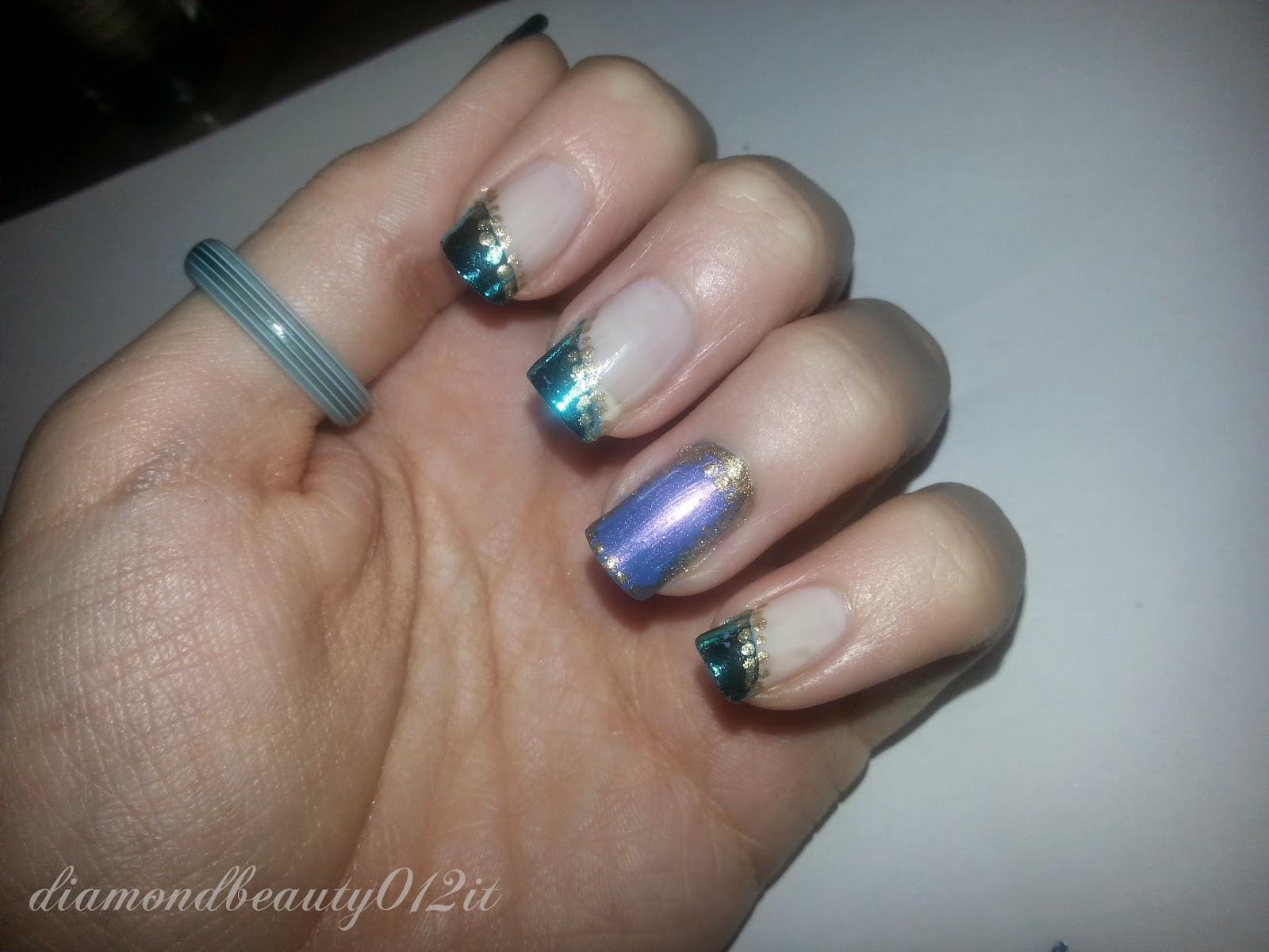 idea di carnevale nail art