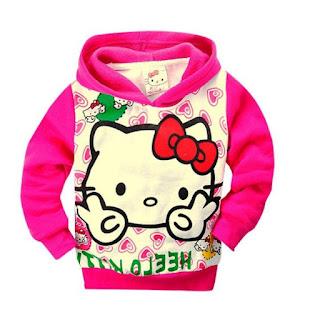 Gambar Model Jaket Hello Kitty Anak Perempuan