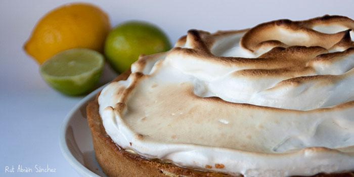 Tarta de limón o lemon pie. Receta paso a paso