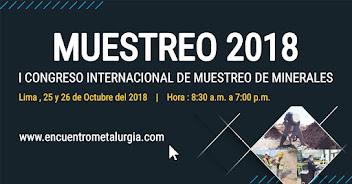 I Congreso Internacional de Muestreo de Minerales