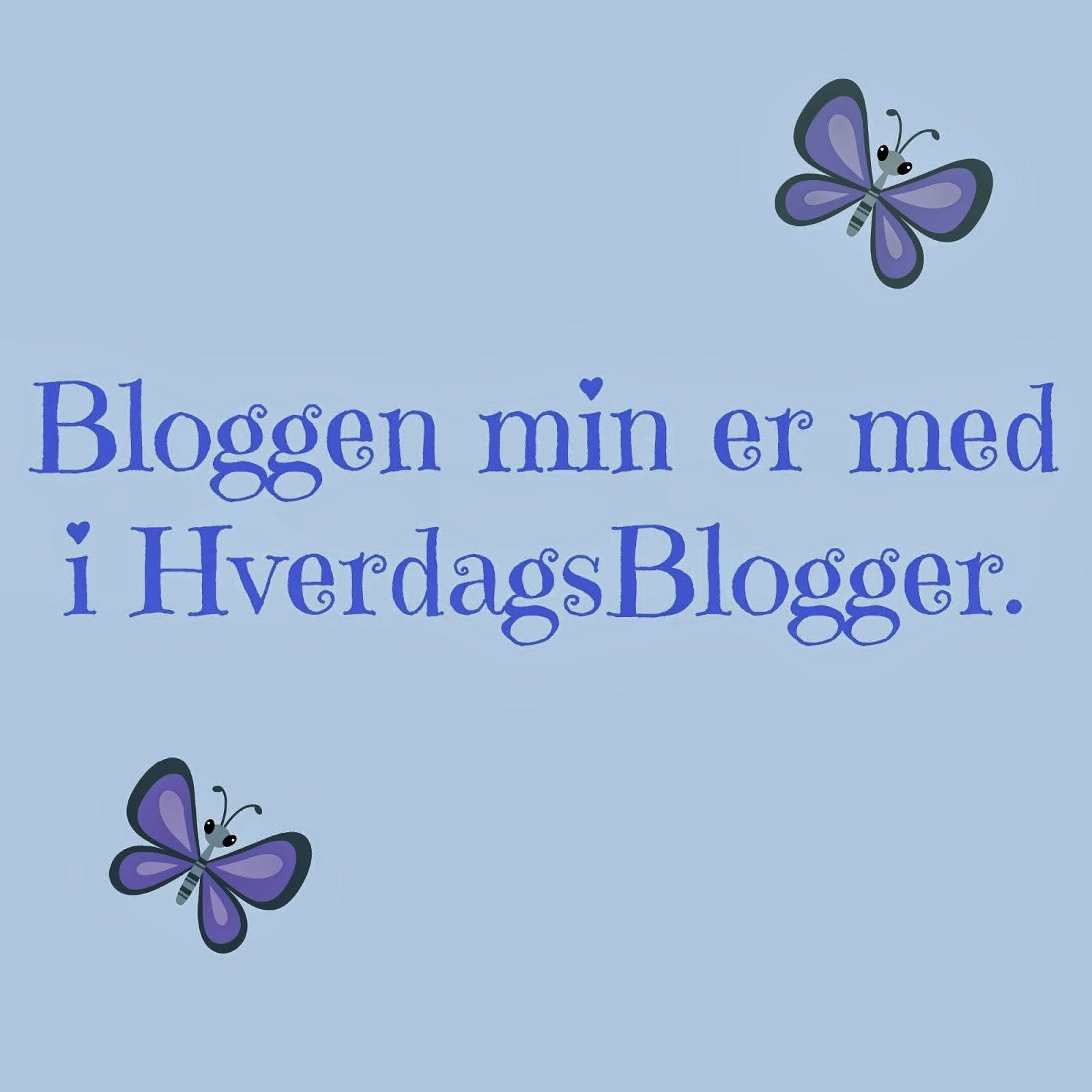 Bloggen min er med