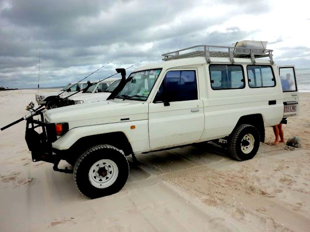 how to visit fraser island 4wd