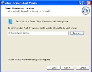 How to Install Sniper Ghost Warrior