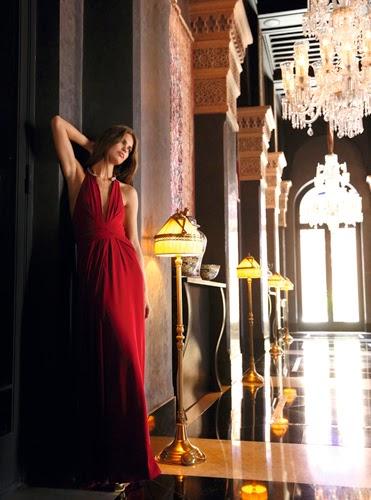 looks de fiesta para brillar en Nochevieja vestido rojo BDBA