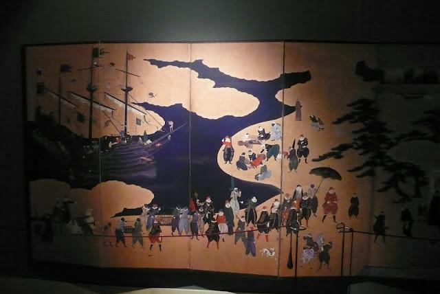 biombo japonés museo de artes decorativas de madrid
