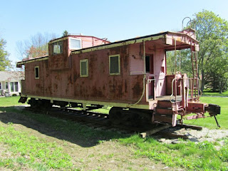 Newbridge's last remaining caboose and house of ill repute
