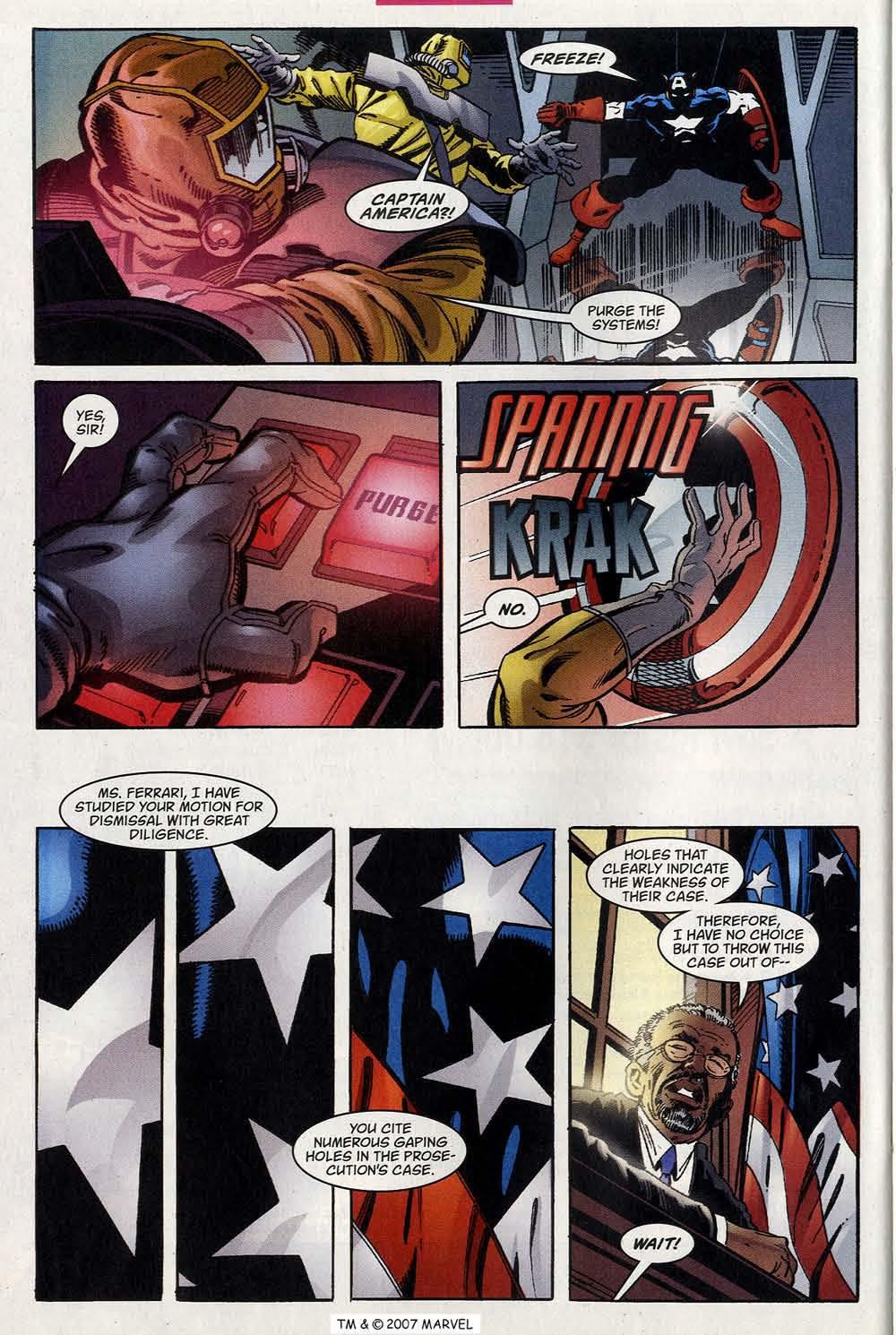 Captain America (1998) Issue #40 #47 - English 32