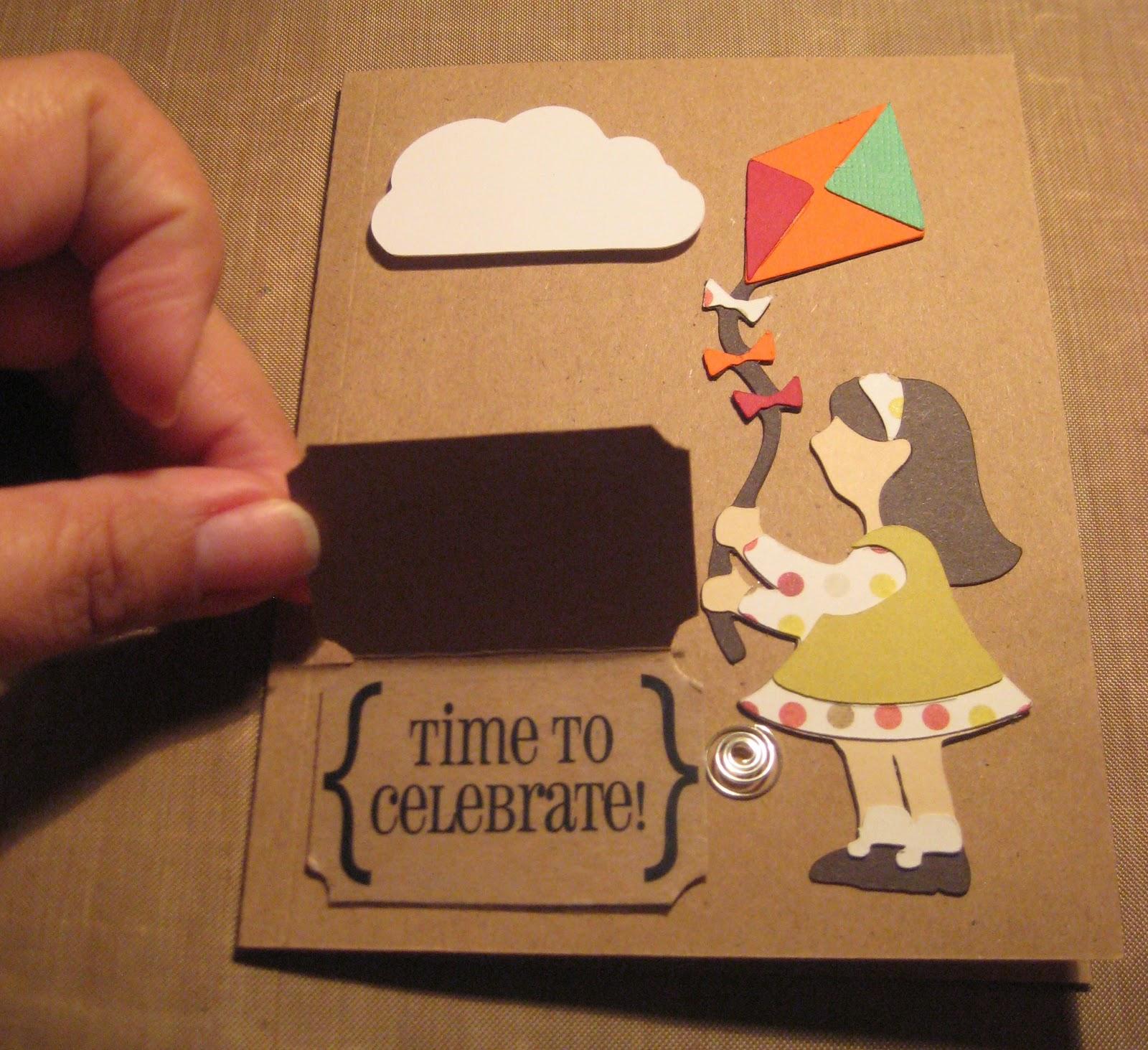 For my sanitys sake I scrap September 2011 – Interactive Birthday Card