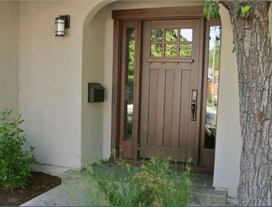 Fotos y dise os de puertas julio 2012 - Puertas acristaladas exterior ...