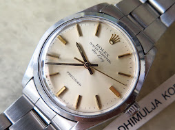 ROLEX OYSTER PERPETUAL AIRKING PRECISION CREAM DIAL - ROLEX 5500 - AUTOMATIC