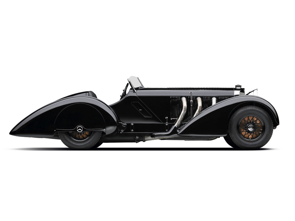 Mercedes Benz SSK Trossi Roadster 3