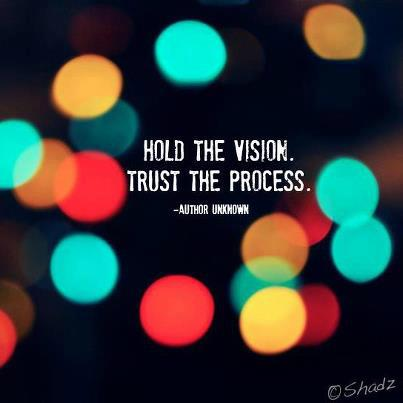 Quotes Amp Inspiration Hold The Vision Trust The Process