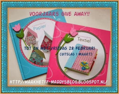 GIVE AWAY Maak het FF Maddy's blog