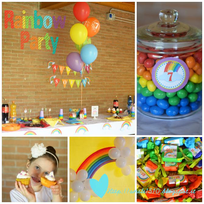 Rainbow Party - Festa a tema arcobaleno