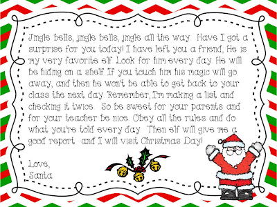 Free Elf Letter Template | New Calendar Template Site