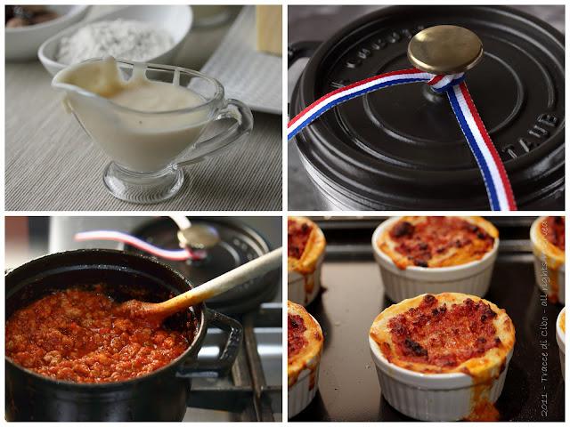 lasagna, ragu alla bolognese, besciamella