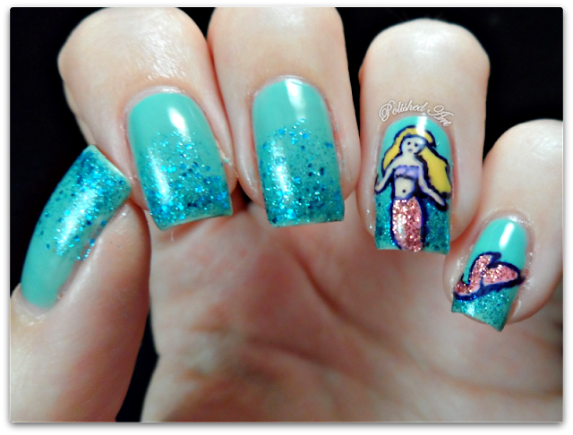 then-and-now-mermaid-manicure-nail-art-glitter-gradient-OPI