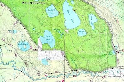 Big Island Lake Wilderness Area Property
