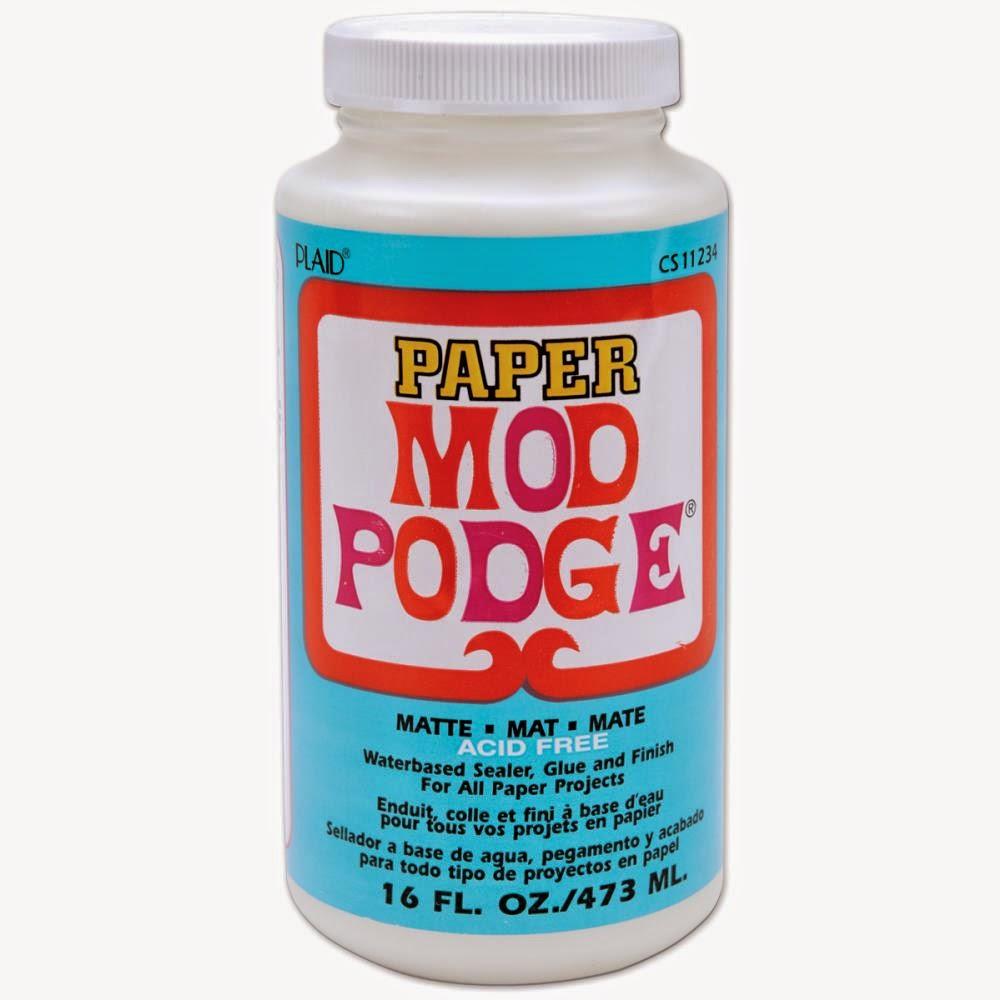 Crafty Divas Mod Podge Waterbased Sealer Glue