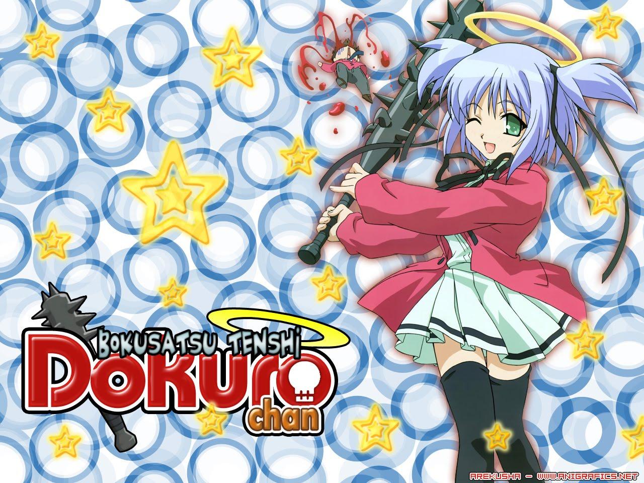 30 Days of Anime Bokusatsu+Tenshi+Dokuro+Chan+anime