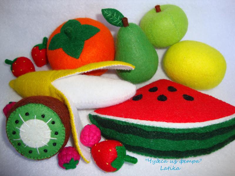 Как сделать овощи и фрукты своими руками из бумаги
