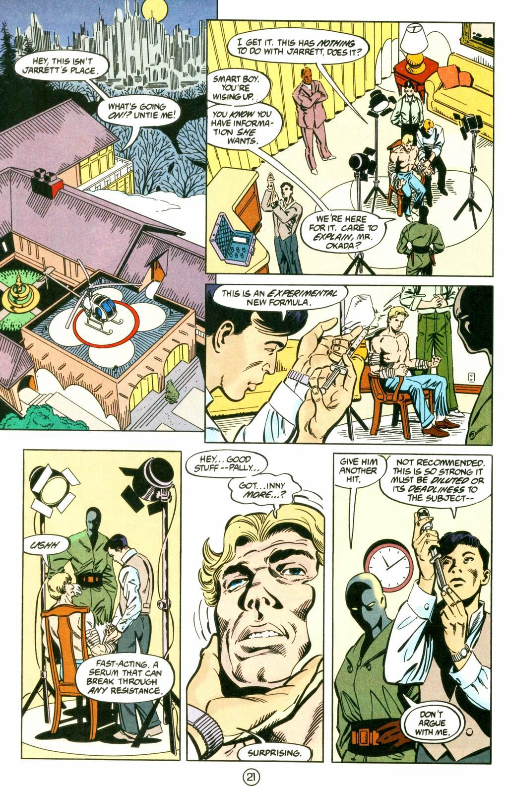 Deathstroke (1991) Issue #8 #13 - English 21