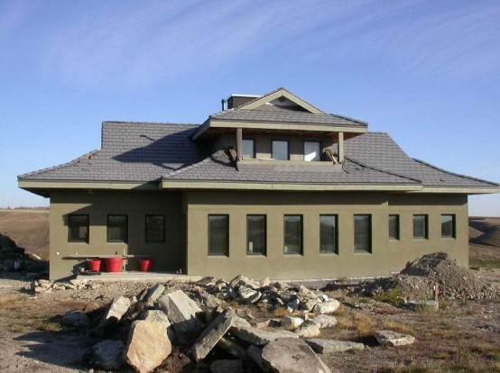 Modern interior design off grid homes plans for Icf construction florida