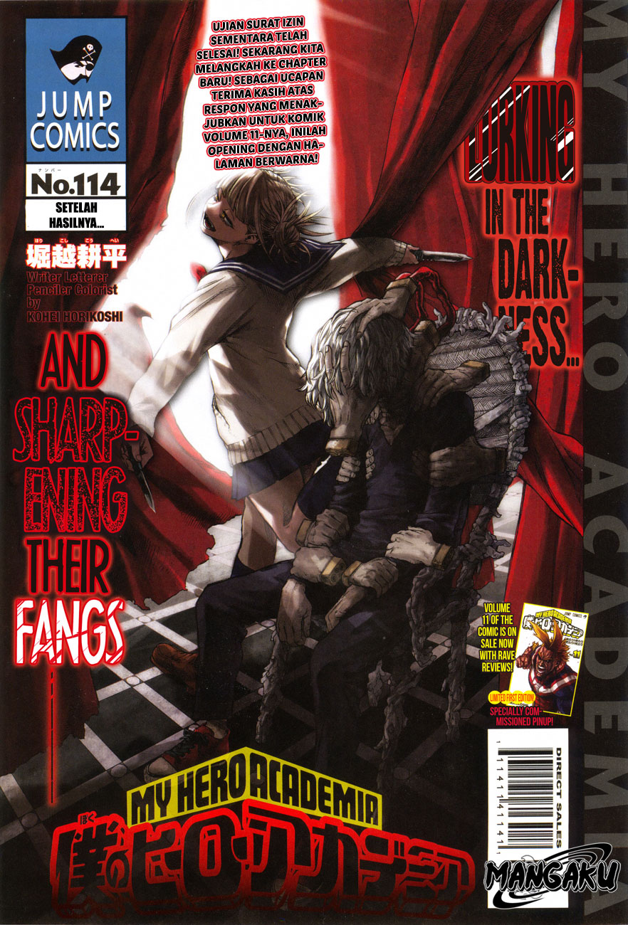 Boku no Hero Academia Chapter 114-1
