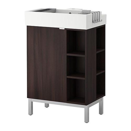 shown lillangen sink cabinet 2 end units appox 200