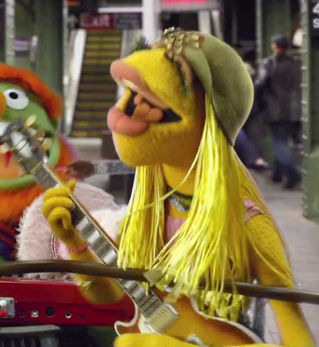 WHY DO THE MUPP... Muppets Janice
