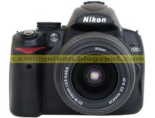 Harga Kamera DSLR Nikon D5000 dan Spesifikasi Lengkap 2013