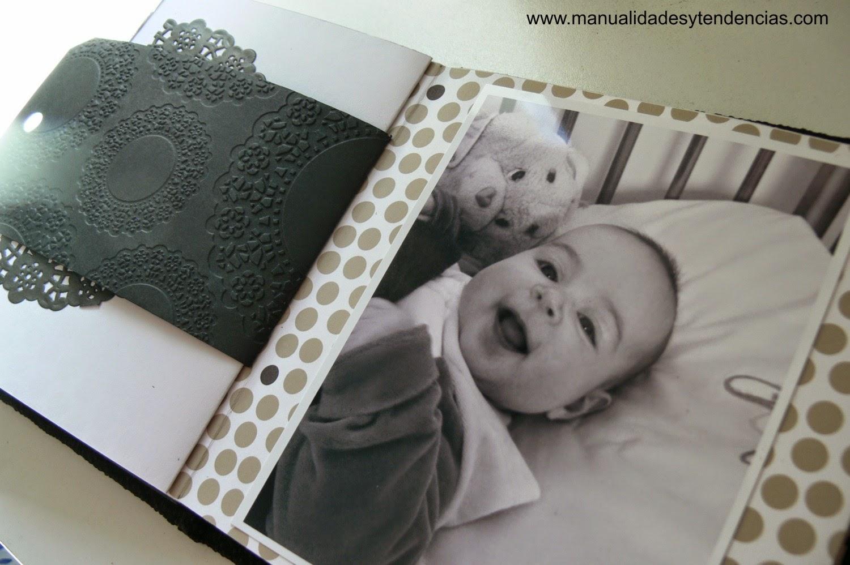 Álbum scrapbook bebé