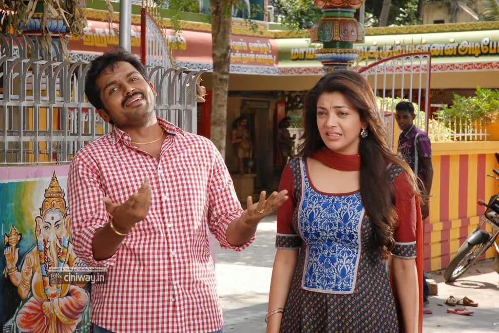 www.ciniway.in: All in All Azhagu Raja Heroine Kajal Agarwal Stills